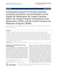 Annals of Intensive Care : February 2012 by Jean-louis Teboul, Le Kremlin-bicêtre