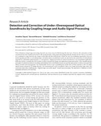 Eurasip Journal on Advances in Signal Pr... by Regalia, Phillip