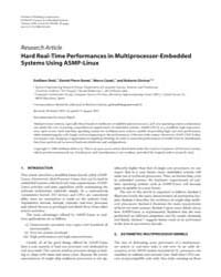 Eurasip Journal on Embedded Systems : Au... by Salcic, Zoran