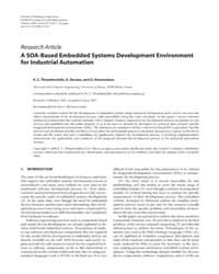 Eurasip Journal on Embedded Systems : Ju... by Salcic, Zoran