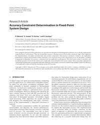 Eurasip Journal on Embedded Systems : Oc... by Salcic, Zoran
