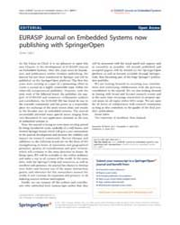 Eurasip Journal on Embedded Systems : Ap... by Salcic, Zoran