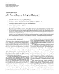 Eurasip Journal on Information Security ... by Drygajlo, Andrzej