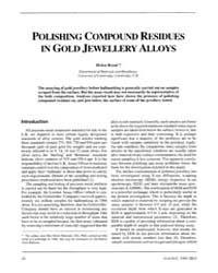 Gold Bulletin : Volume 22 - 4, Issue 2 ;... by Keel, Trevor