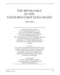 Gold Bulletin : Volume 23 - 4, Issue 4 ;... by Keel, Trevor