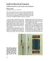 Gold Bulletin : Volume 4 - 4, Issue 3 ; ... by Keel, Trevor
