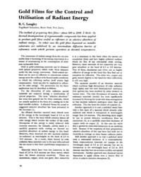 Gold Bulletin : Volume 8 - 4, Issue 2 ; ... by Keel, Trevor