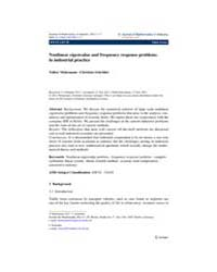 Journal of Mathematics in Industry : Jul... by Fitt, Alistair