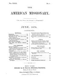 The American Missionary : Volume 0032, I... by American Missionary Association
