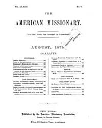 The American Missionary : Volume 0033, I... by American Missionary Association