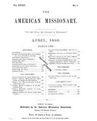 The American Missionary : Volume 0034, I... by American Missionary Association