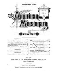 The American Missionary : Volume 0040, I... by American Missionary Association