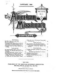 The American Missionary : Volume 0047, I... by American Missionary Association