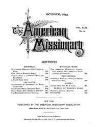 The American Missionary : Volume 0049, I... by American Missionary Association