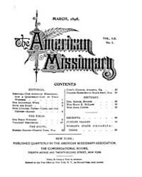 The American Missionary : Volume 0052, I... by American Missionary Association