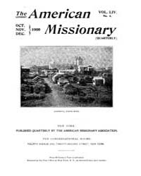 The American Missionary : Volume 0054, I... by American Missionary Association