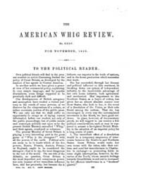 The American Whig Review : Volume 0012, ... by Wiley and Putnam