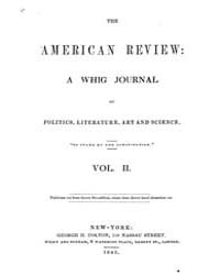 The American Whig Review : Volume 0002, ... by Wiley and Putnam