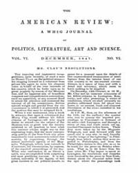 The American Whig Review : Volume 0006, ... by Wiley and Putnam