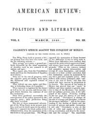 The American Whig Review : Volume 0007, ... by Wiley and Putnam