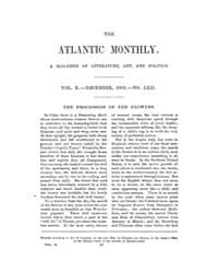 The Atlantic Monthly : Volume 0010, Issu... by Atlantic Monthly Co.