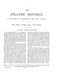 The Atlantic Monthly : Volume 0013, Issu... by Atlantic Monthly Co.