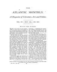 The Atlantic Monthly : Volume 0015, Issu... by Atlantic Monthly Co.