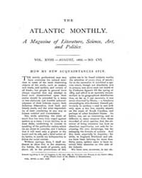 The Atlantic Monthly : Volume 0018, Issu... by Atlantic Monthly Co.