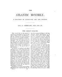 The Atlantic Monthly : Volume 0001, Issu... by Atlantic Monthly Co.
