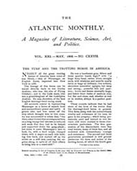 The Atlantic Monthly : Volume 0021, Issu... by Atlantic Monthly Co.