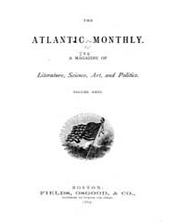 The Atlantic Monthly : Volume 0023, Issu... by Atlantic Monthly Co.