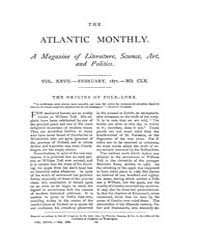 The Atlantic Monthly : Volume 0027, Issu... by Atlantic Monthly Co.