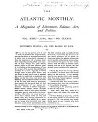 The Atlantic Monthly : Volume 0029, Issu... by Atlantic Monthly Co.