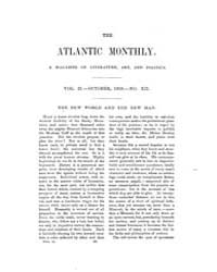 The Atlantic Monthly : Volume 0002, Issu... by Atlantic Monthly Co.