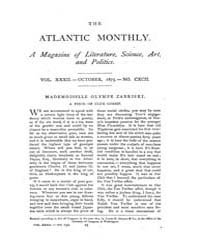 The Atlantic Monthly : Volume 0032, Issu... by Atlantic Monthly Co.