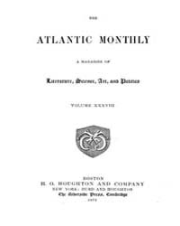 The Atlantic Monthly : Volume 0038, Issu... by Atlantic Monthly Co.