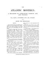 The Atlantic Monthly : Volume 0044, Issu... by Atlantic Monthly Co.