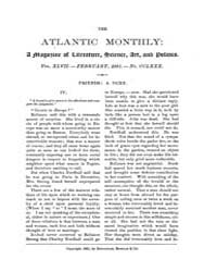 The Atlantic Monthly : Volume 0047, Issu... by Atlantic Monthly Co.