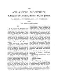 The Atlantic Monthly : Volume 0048, Issu... by Atlantic Monthly Co.