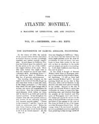The Atlantic Monthly : Volume 0004, Issu... by Atlantic Monthly Co.