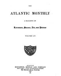 The Atlantic Monthly : Volume 0055, Issu... by Atlantic Monthly Co.