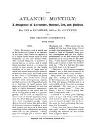 The Atlantic Monthly : Volume 0056, Issu... by Atlantic Monthly Co.