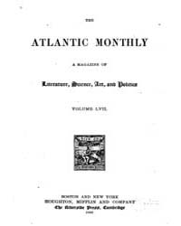 The Atlantic Monthly : Volume 0057, Issu... by Atlantic Monthly Co.