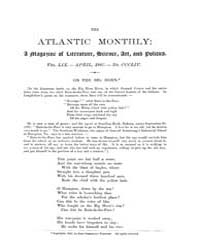 The Atlantic Monthly : Volume 0059, Issu... by Atlantic Monthly Co.