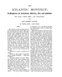 The Atlantic Monthly : Volume 0061, Issu... by Atlantic Monthly Co.