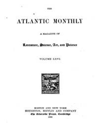 The Atlantic Monthly : Volume 0066, Issu... by Atlantic Monthly Co.