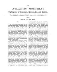 The Atlantic Monthly : Volume 0073, Issu... by Atlantic Monthly Co.