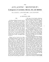 The Atlantic Monthly : Volume 0076, Issu... by Atlantic Monthly Co.