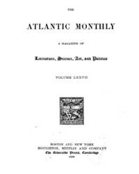 The Atlantic Monthly : Volume 0077, Issu... by Atlantic Monthly Co.