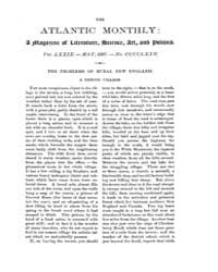 The Atlantic Monthly : Volume 0079, Issu... by Atlantic Monthly Co.